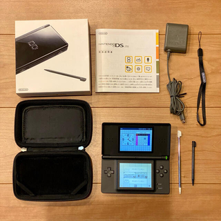 任天堂 - Nintendo DS Lite ジェットブラック