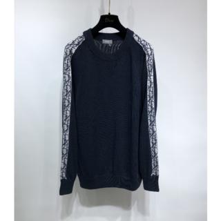 Dior - 【DIOR】ディオール オブリーク コットンジャージー セーター