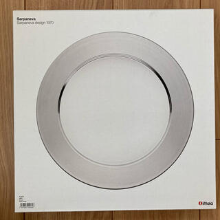iittala - 新品 廃盤 iittala Sarpaneva スチールプレート 32cm