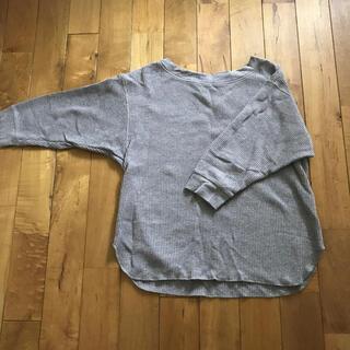 ユニクロ(UNIQLO)のUNIQLO⭐︎ユニクロワッフルカットソー7部丈(Tシャツ(長袖/七分))