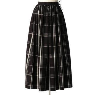 Drawer - Drawer ウェストリボンチェックギャザースカート
