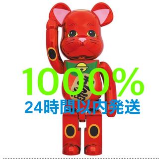 メディコムトイ(MEDICOM TOY)のBE@RBRICK 招き猫 梅金メッキ 1000%(フィギュア)
