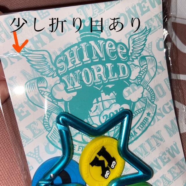 SHINee(シャイニー)のSHINee 公式グッズ キーホルダー エンタメ/ホビーのタレントグッズ(アイドルグッズ)の商品写真