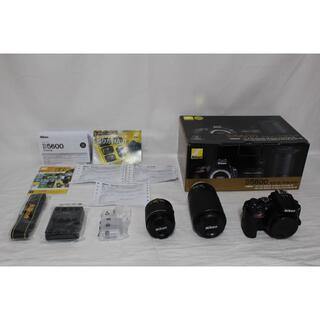 Nikon - ★ほぼ新品★ Nikon デジタル一眼レフカメラ D5600WZBK