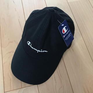 Champion - チャンピオン キャップ 帽子 黒 新品