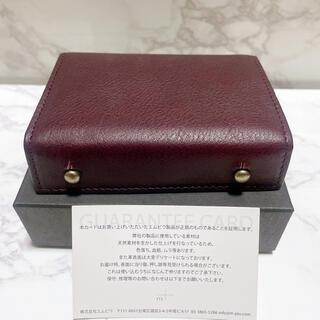 エムピウ(m+)のエムピウ 財布 ミッレフォッリエ P25 ワイン アリゾナ メンズ レディース(折り財布)