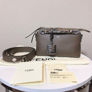 FENDI - 正規品 FENDI バイザウェイ スモール ブラウン