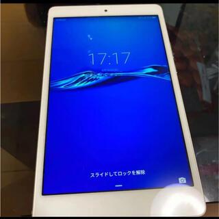 HUAWEI - HUAWEI MediaPad M3 Lite s 701HW タブレット