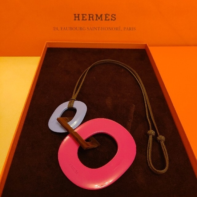 Hermes(エルメス)のエルメス バッファローホーン ネックレス ペンダント カラ レディースのアクセサリー(ネックレス)の商品写真