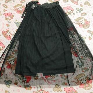 コウベレタス(神戸レタス)のプリーツチュールスカート(ロングスカート)
