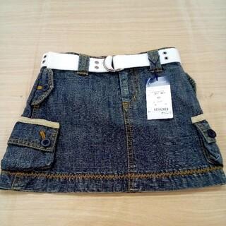 ラルフローレン(Ralph Lauren)の新品未使用 ラルフローレン 100 デニムスカート 02MN06161557(スカート)