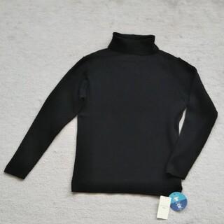 サマンサモスモス(SM2)のSamantha Mos2 blue☆抗菌リブタートル(ニット/セーター)