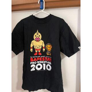 A BATHING APE - 【美品】A BATHING APE(ア ベイシング エイプ) BAPE Tシャツ