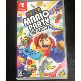 Nintendo Switch - スーパー マリオパーティ ニンテンドースイッチソフト Switch