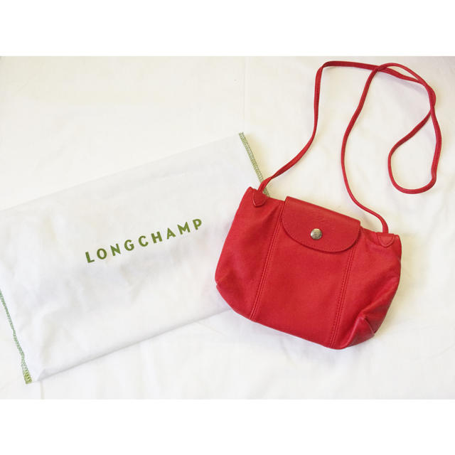 56ec2d64db34 LONGCHAMP(ロンシャン)の新品同様 ロンシャン キュイール ポシェット ショルダー レディースのバッグ(ショルダー
