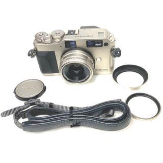 ★美品★Contax G1 +Contax 28mm レンズセット 付属品多数