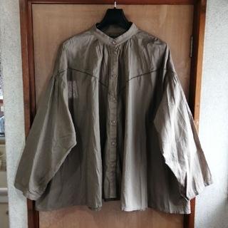 Kastane - Kastane  カスタネ   コットン 刺繍  オーバーサイズ  シャツ