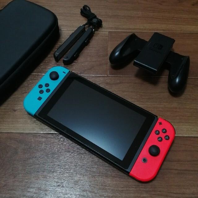 Nintendo Switch(ニンテンドースイッチ)のスイッチ本体 一部ジャンク エンタメ/ホビーのゲームソフト/ゲーム機本体(家庭用ゲーム機本体)の商品写真