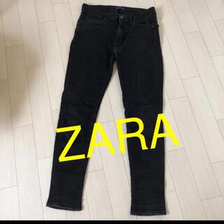 ZARA - ZARA メンズ  ジーパン ブラック