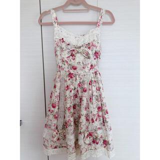 BABY,THE STARS SHINE BRIGHT - ベイビーザスターズシャインブライト  花柄ジャンパースカート