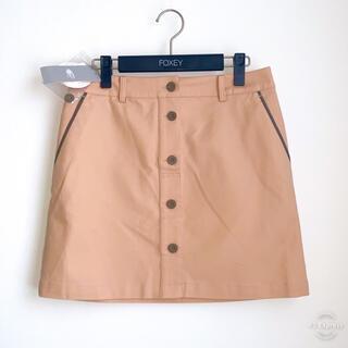 PEARLY GATES - 新品タグ付き ビームスゴルフ スカート ベージュ L  シンプル ゴルフウェア