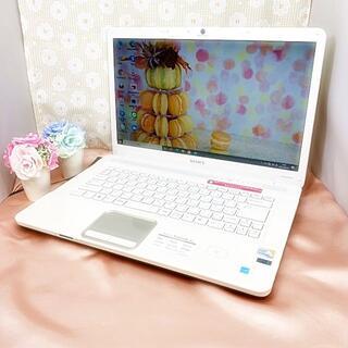 SONY - 格安!【大人気✯webカメラ&ブルーレイ搭載】キラキラゴールド・ノートパソコン