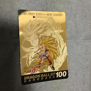 ドラゴンボールGT カードダス NO.100 ゴールドカード