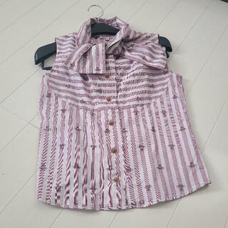 ヴィヴィアンウエストウッド(Vivienne Westwood)のノースリ シャツ(シャツ/ブラウス(半袖/袖なし))