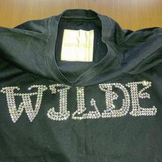 ドレスキャンプ(DRESSCAMP)のドレスキャンプ スワロフスキーWJLDEカットソー サイズ46 タグ付き美品(Tシャツ/カットソー(半袖/袖なし))