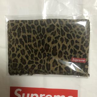 Supreme - Supreme シュプリーム 15AW Leopard Scarf マフラー