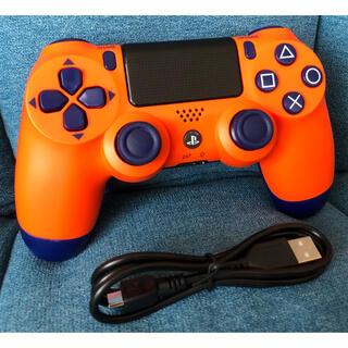 PlayStation4 - PS4 純正 コントローラー デュアルショック4 《サンセット・オレンジ・新品》