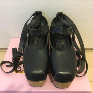 ジェーンマープル(JaneMarple)のジェーン♡3way木底靴(ローファー/革靴)