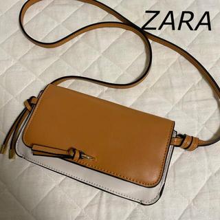 ZARA - 【ZARA】 美品 お財布ショルダーバッグ