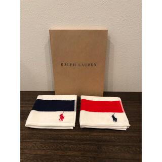 ラルフローレン(Ralph Lauren)のラルフローレン ●ガーゼタオルハンカチ ●2枚セット(ハンカチ)
