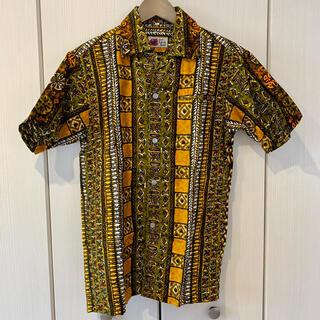 サンサーフ(Sun Surf)のアロハ Budo Tahiti Shirt の南国デザインシャツM(シャツ)