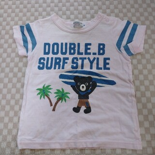 ダブルビー(DOUBLE.B)のダブルビー Tシャツ 90(Tシャツ/カットソー)