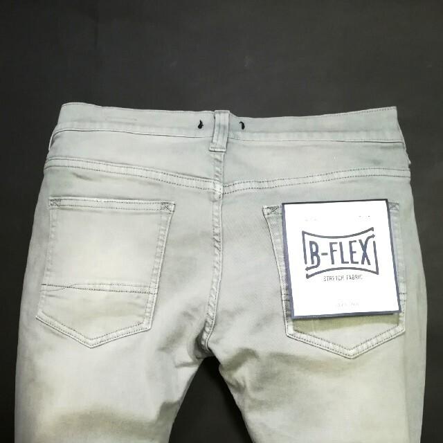 BAYFLOW(ベイフロー)のトールさん専7/16 新品 BAY FLOW  ストレッチスキニーデニム メンズのパンツ(デニム/ジーンズ)の商品写真