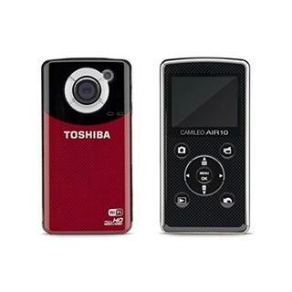 トウシバ(東芝)の東芝TOSHIBAビデオカメラ Camileo Air10 SDカード付き 新品(コンパクトデジタルカメラ)
