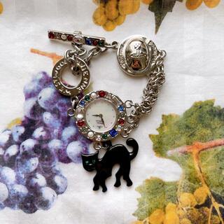 ヴィヴィアンウエストウッド(Vivienne Westwood)のヴィヴィアン キャットモチーフ 腕時計 シルバー (腕時計)