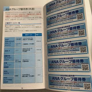 エーエヌエー(ゼンニッポンクウユ)(ANA(全日本空輸))のANA グループ優待券(その他)
