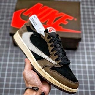 Travis Scott Nike Air Jordan 1 Low AJ1(スニーカー)