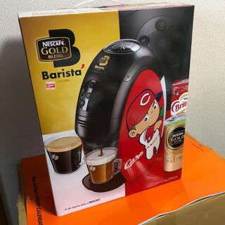 ネスレ(Nestle)の【未使用】ネスカフェ ゴールドブレンド バリスタ PM9631-CARP2017(コーヒーメーカー)