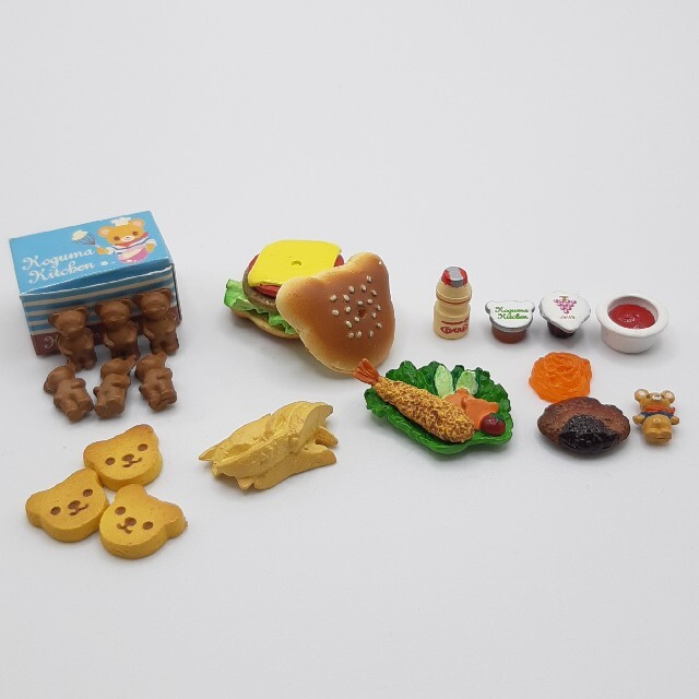 MegaHouse(メガハウス)のメガハウス 食玩 こぐまキッチン  いろいろセット エンタメ/ホビーのフィギュア(その他)の商品写真