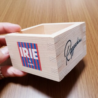 アイリーライフ(IRIE LIFE)の【希少】IRIE LIFE オリジナルロゴ入り枡(グラス/カップ)