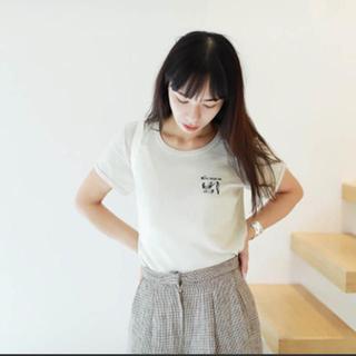 トゥデイフル(TODAYFUL)のお値下げ不可 todayful 日本製 ロゴtee(Tシャツ(半袖/袖なし))
