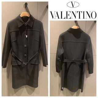 ヴァレンティノ(VALENTINO)のVALENTINO  SALE バージンウールコート(チェスターコート)