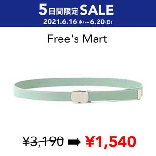 フリーズマート(FREE'S MART)のSALE 【新品】FREE'S MART スライドバックルガチャベルト(ベルト)