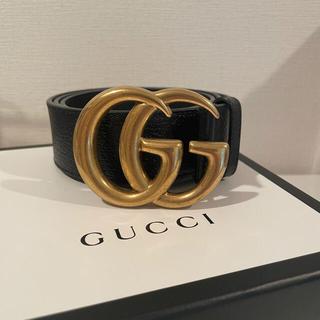 Gucci - 【正規品】GUCCI グッチ ダブルGバックル レザーベルト