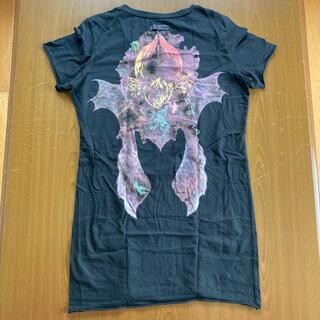 ルグランブルー(LGB)のイフシックスワズナイン フラワーカットソー 蛇タグ綺麗に残存 サイズ1(Tシャツ/カットソー(半袖/袖なし))