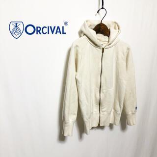 オーシバル(ORCIVAL)の【ORCIVAL】定番 VINTAGE FRENCH TERRY PARKER(パーカー)